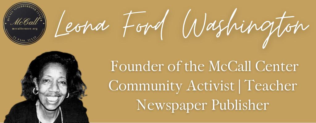 Ms. Leona Ford Washington